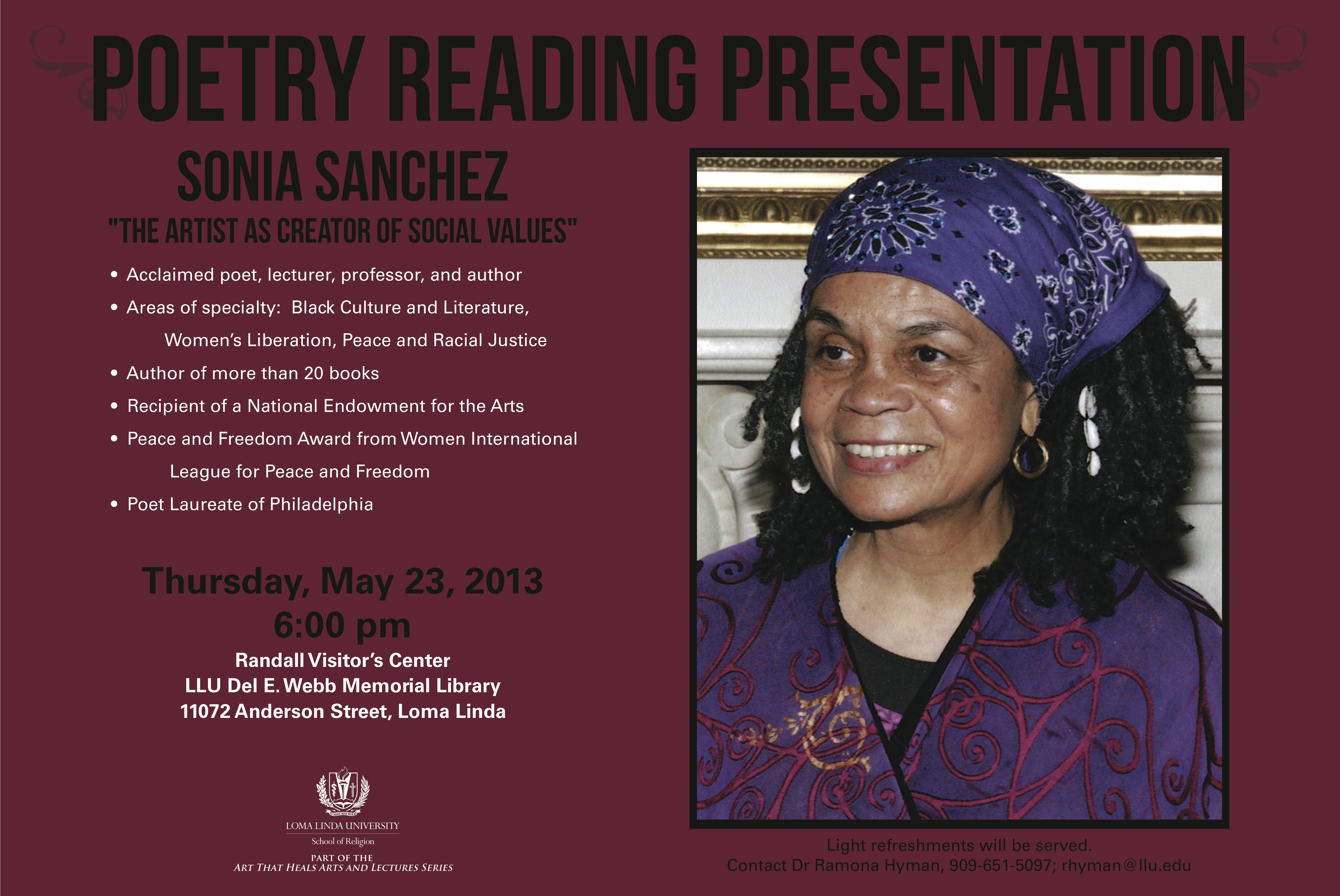 sonia sanchez essay Immediately download the sonia sanchez summary, chapter-by-chapter analysis, book notes, essays, quotes, character descriptions, lesson plans, and more - everything you need for studying or teaching sonia sanchez.